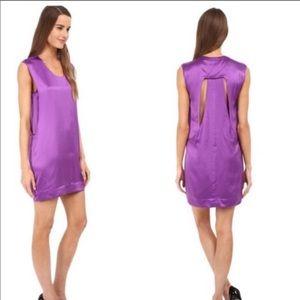 Helmut Lang silk shirt dress size Large